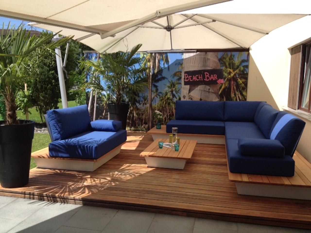 Outdoor Kissen Nach Mass Für Selbst Gebaute Lounge!